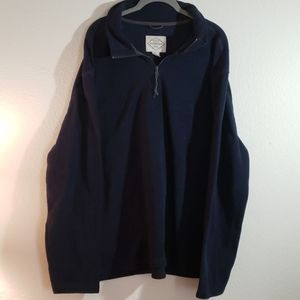 St. John's Bay blue fleece pullover xxl